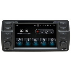 "BMW 3 Series E46 M3 1998-2006 - 7"" Screen Android Car Radio DVD CD Player Sat Nav iPod Bluetooth USB - D3MMI"