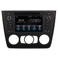"BMW 1 Series 2004 > E81, E82, E87, E83 With Manual Climate Controls - 6.2"" Android Car Radio DVD CD Player Sat Nav iPod BT Stereo"