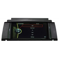 "BMW X3 F25 2011- 12 - 8"" Screen Car DVD CD MP3 Sat Nav iPod BT USB Stereo - DX3MMI"