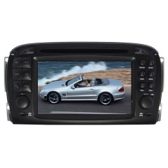 Mercedes SL R230 2001-2007 - SL MMI Car Radio DVD CD Player Sat Nav iPod Bluetooth Stereo