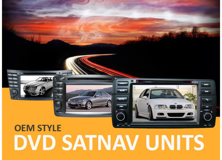 DVD SatNav Units
