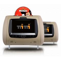 2 X MiMi HRM (Headrest DVD Monitors)