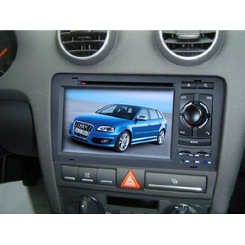 audi a3 s3 rns e 2003 10 car radio dvd cd player sat nav. Black Bedroom Furniture Sets. Home Design Ideas