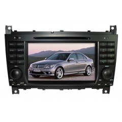 Mercedes CLK W209 2006-2011 - CLK MMI Car Radio DVD CD Player Sat Nav iPod Bluetooth USB Stereo