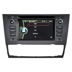BMW 3 Series E90, E91, E92, E93 With Automatic Climate Controls DVD Media GPS SatNav - D9XMMI