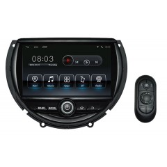 "BMW Mini (2014 - 2016) without factory Sat Nav (original dvd screen) - 6.95"" TouchScreen Android Car Radio DVD CD Player Sat Nav iPod Bluetooth Stereo"
