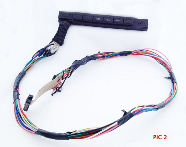 BMW 1 series extra buttons wire extention example